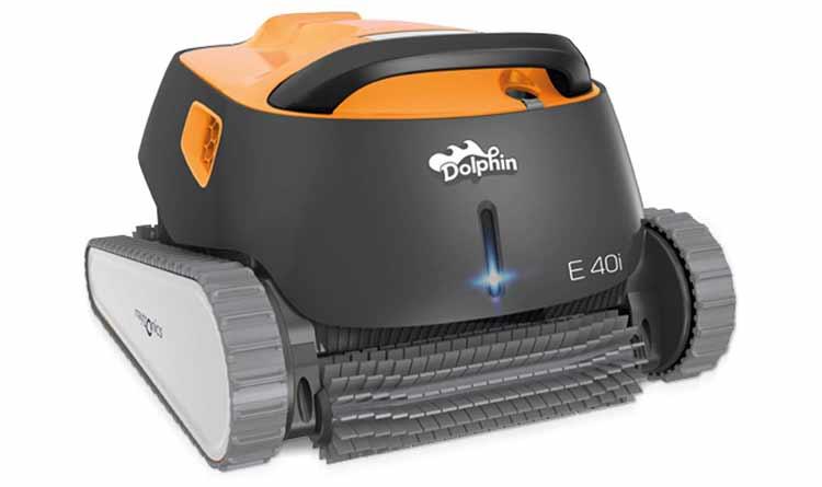 Dolphin E40i Robot Limpiafondos de Piscina. Opiniones y precio